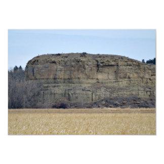 Roca del pilar de Pompeys Invitación 12,7 X 17,8 Cm