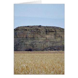 Roca del pilar de Pompeys Tarjeta De Felicitación