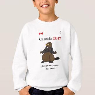 Roca fresca de Canadá 150 en 2017 encendido Sudadera