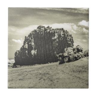 Roca grande en el Praia Malhada Jericoacoara el Azulejo