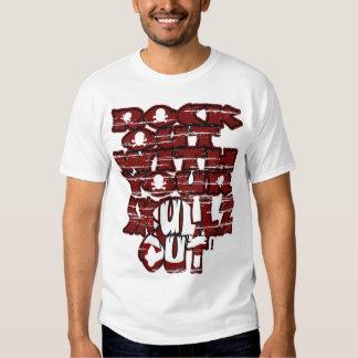 Roca hacia fuera $17,95 camisetas