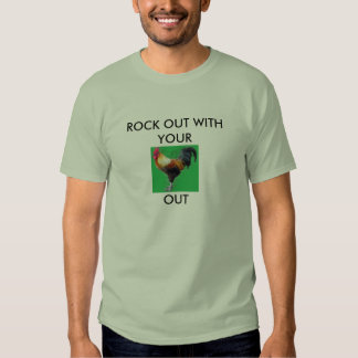 Roca hacia fuera camisas