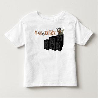 Roca hacia fuera camiseta de niño