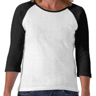 Roca hacia fuera con su halcón hacia fuera camisetas