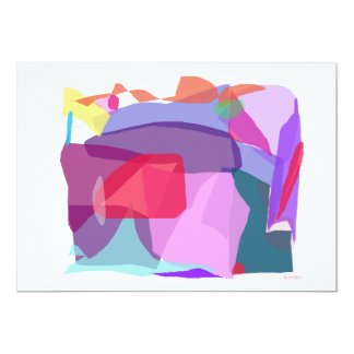 Roca Invitación 12,7 X 17,8 Cm