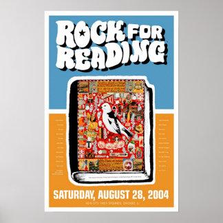 Roca para leer póster