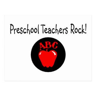 Roca preescolar de los profesores postal