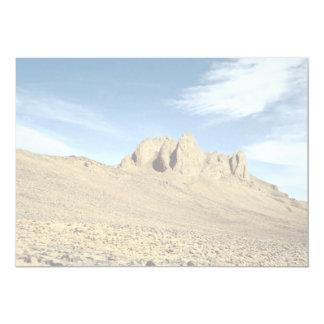 Roca resistida de la piedra arenisca, desierto de invitación 12,7 x 17,8 cm