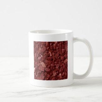 Roca roja del granito taza clásica
