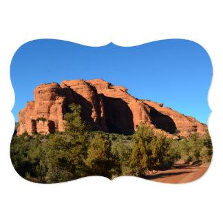 Roca roja en Sedona Invitación 12,7 X 17,8 Cm