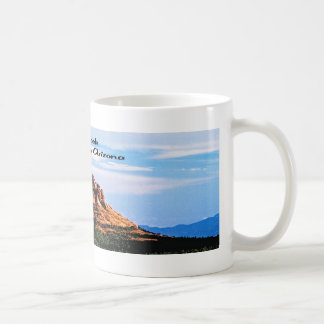 Roca Sedona Arizona de Bell Taza Básica Blanca