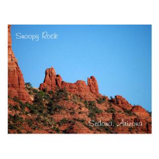Roca Snoopy: Sedona, postal de Arizona
