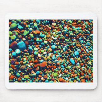Rocas ciegas de la playa alfombrilla de ratón
