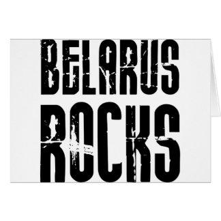 Rocas de Bielorrusia Tarjeta De Felicitación