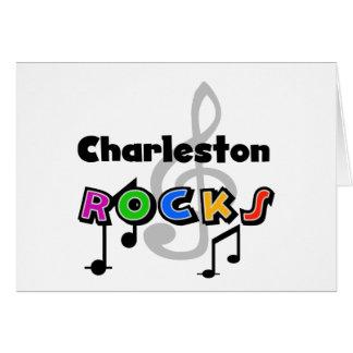 Rocas de Charleston Felicitaciones