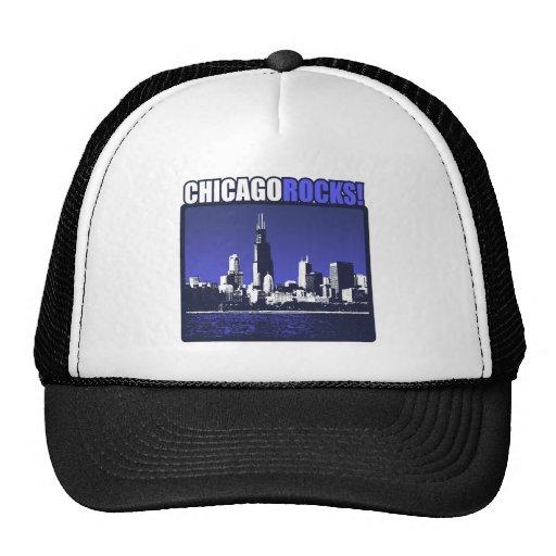 ¡Rocas de Chicago! Gorra