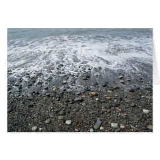 Rocas de Dungeness Tarjeta