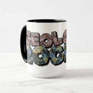 ¡Rocas de la geología! Taza de café