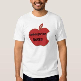 Rocas de la guardería camisetas
