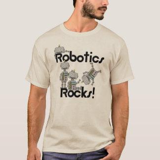Rocas de la robótica camiseta