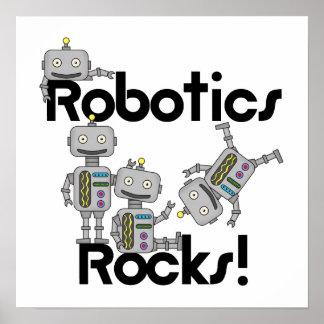 Rocas de la robótica póster
