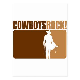 ¡Rocas de los vaqueros! Postal
