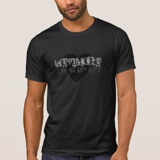 Rocas de Metalcore mi camiseta de la vida (negro