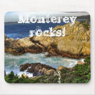 ¡Rocas de Monterey! Tapetes De Ratón
