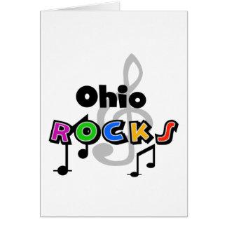 Rocas de Ohio Tarjeta De Felicitación