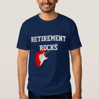 Rocas del retiro camisetas