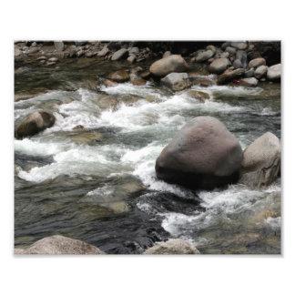 Rocas del río foto