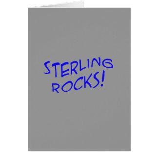 ¡Rocas esterlinas! Tarjeta 3
