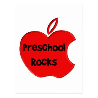 Rocas preescolares postal
