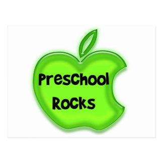 Rocas preescolares tarjetas postales
