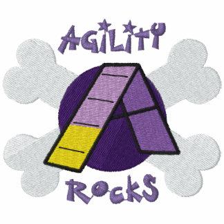 Rocas púrpuras de la agilidad