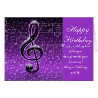 ¡Rocas púrpuras! _ Tarjeta De Felicitación