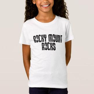 Rocas rocosas de Carolina del Norte del soporte Camiseta