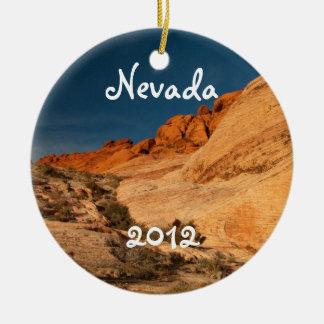 Rocas rojas de la silla de montar; Recuerdo de Nev Ornamentos Para Reyes Magos