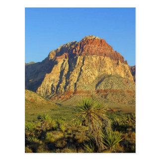 Rocas rojas, postal del paisaje de Las Vegas