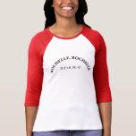 Rochelle Rochelle el jersey musical del softball Camisetas