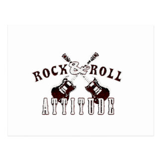 Rock and Roll attitude Postales