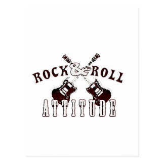 Rock and Roll attitude Postal