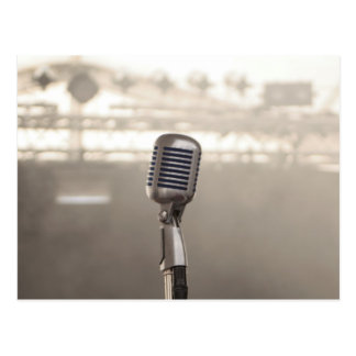 Rock And Roll Microphone Postal
