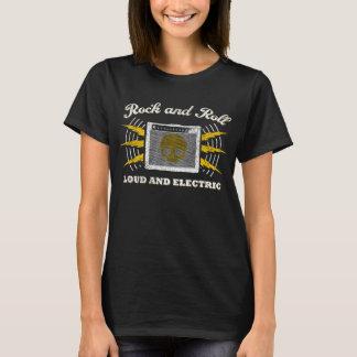 Rock-and-roll: Ruidoso y eléctrico. Apenado Camiseta