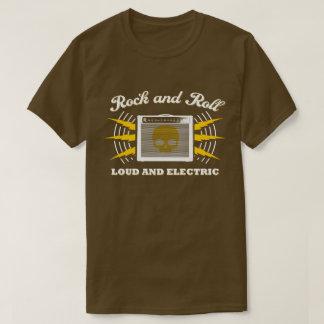 Rock-and-roll: Ruidoso y eléctrico. Brown Camiseta