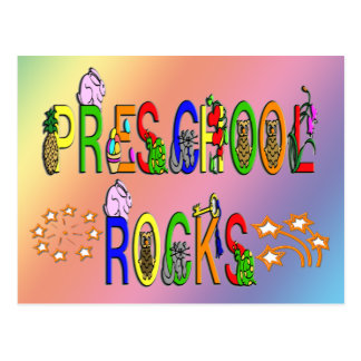 Rock preescolares - estrellas postales