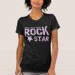 rock star camiseta