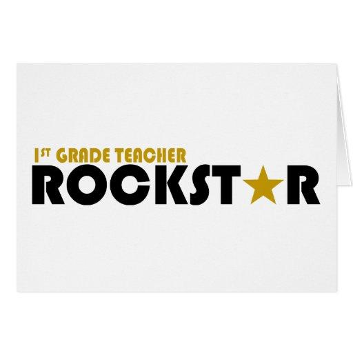 Rockstar - 1r grado tarjetón