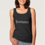Rockstar Camiseta Con Tirantes