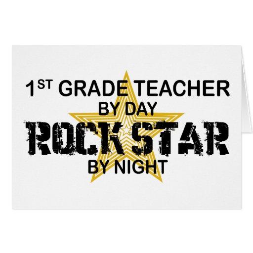 Rockstar por la noche - 1r grado tarjetas